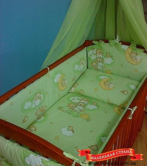 Постельное на детскую кроватку своими руками