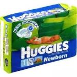 Подгузники Huggies, салфетки